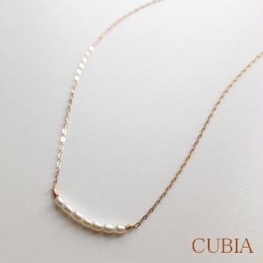 CUBIA 7パールネックレス 【納期約2~3週間】