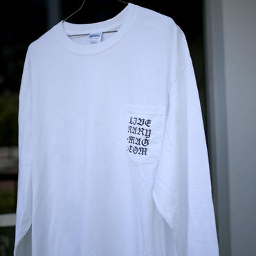 """WEB"" (Chinese ver. )  Long Sleeve Pocket Tee 