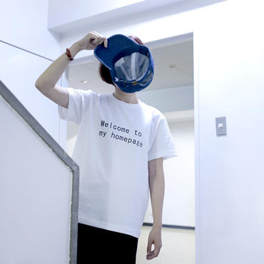 HIMAA × LIVERARY Exclusive Tee |WELCOME TO MY HOMEPAGE