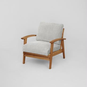 Corduroy Sofa 1P【N.Brown】