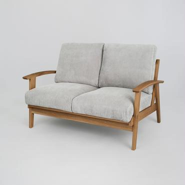 Corduroy Sofa 2P【N.Brown】