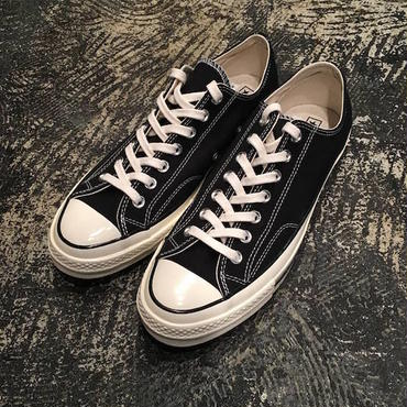 "【 CONVERSE 】""First String"" CTAS 70 OX ( BLACK )"
