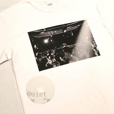 "【 tr.4 suspension 】suspension music ""Monthly publication mmj"" S/S PHOTO TEE ( WHITE )"