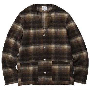 FUCT/SSDD 7005 SHAGGY OMBRE CARDIGAN (BROWN)