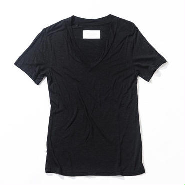 ACANTHUS CT1503 DEEP V NECK T (BLACK)