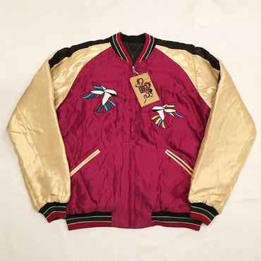 "【 tr.4 suspension × TAILOR TOYO × JOURNAL STANDARD 】""Hummingbird"" Jacket ( BURGUNDY × BLACK )"