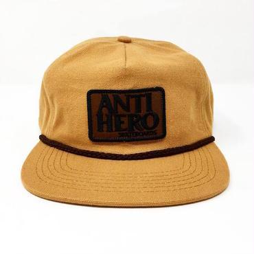 "【 ANTI HERO 】""RESERVE PATCH"" SNAPBACK CAP ( TAN )"