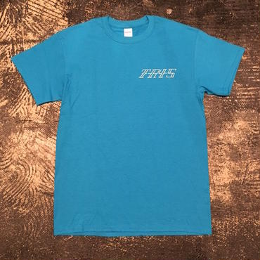 "【 tr.4 suspension 】""VULTURE"" S/S TEE ( BLUE )"