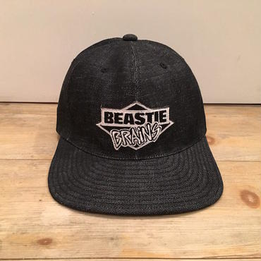 "FILTHY BOYS DIRTY FLAVA ""BEASTIE BRAiNS"" CAP (INDIGO DENIM) LONG SET別注"