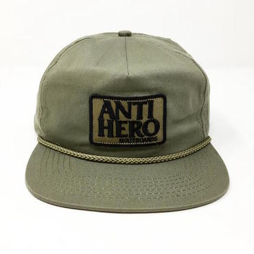 "【 ANTI HERO 】""RESERVE PATCH"" SNAPBACK CAP ( GREY )"