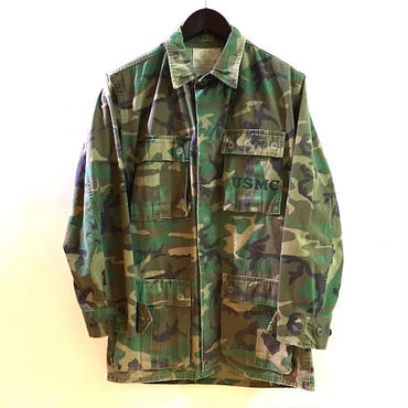 【OLD】 US MILITARY 80's TROPICAL COMBAT JACKET (XS-R)