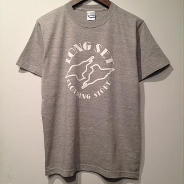 LONG SET ORIGINAL LOGO T-SHIRT (GREY×WHITE)