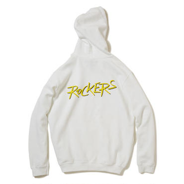 【 KINARI × ROCKERS 】OFFICIAL PULLOVER PARKA (WHITE)