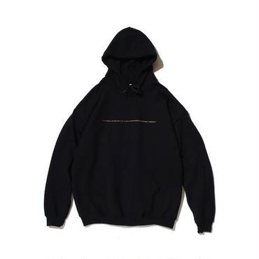 "予約受注商品【 PAPERMIC 】""SMALL THEME"" HOODIE ( BLACK )"