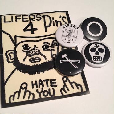 LIFERS 4 PINS SET