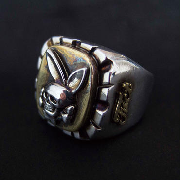 FUCT/SSDD 4404 DEATH BUNNY RING (SILVER925×BRASS)