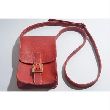 【 tr.4 suspension 】SHOULDER BAG ( RED )