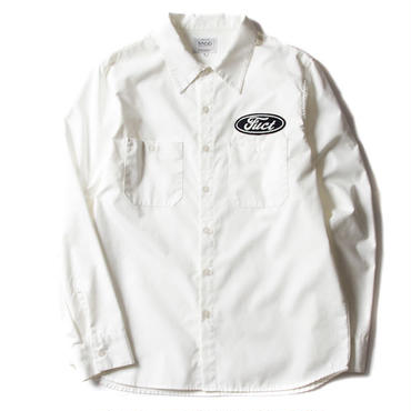 FUCT/SSDD 41305 INDUSTRIAL SHIRT (WHITE)