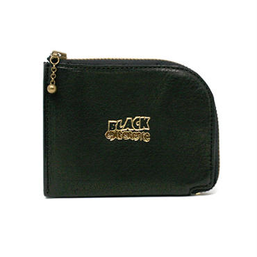 【 LONG SET CLOTHING STORE × BLACK EXPERIENCE × YONZY FACTORY 】BE L-ZIP MINI WALLET (BLACK ONLY)