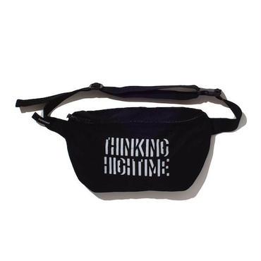 "予約受注商品【 PAPERMIC 】""THINKING HIGH TIME"" BAG ( BLACK )"