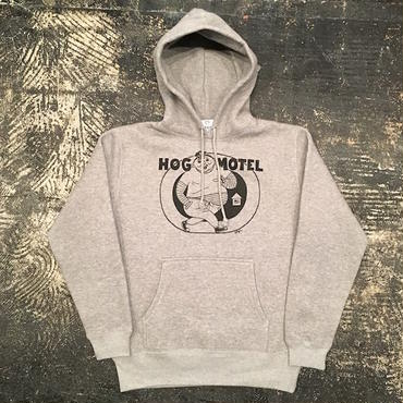 "【 LIFERS 】L-035 ""HOG MOTEL"" PULLOVER PARKA (GRAY)"