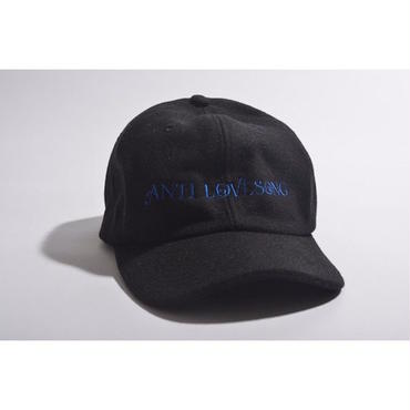 "【 tr.4 suspension × GAVIAL 】""ANTI LOVESONG"" WOOL CAP ( BLACK )"