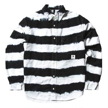 PAWN 9302 TIE DYE PRISONER SHIRT (WHITE)