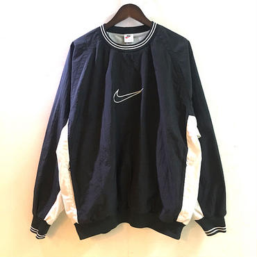 【OLD】 90's NIKE NYLON PULLOVER JERSEY (L)