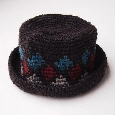mash MS-BDNS-07 Knit HAT (#1 CHARCOAL)