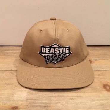 "FILTHY BOYS DIRTY FLAVA ""BEASTIE BRAiNS"" CAP (KHAKI)"