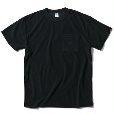 【 FUCT/SSDD 】48602 GENERAL FRENCH TERRY TEE (BLACK)