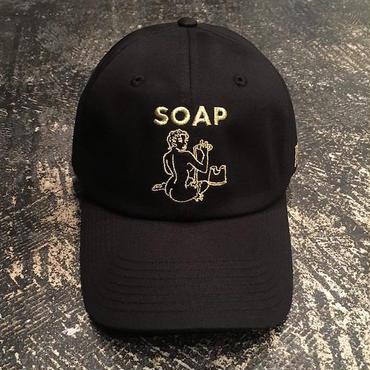 """【 tr.4 suspension 】""""SOAP"""" CAP ( BLACK )"""