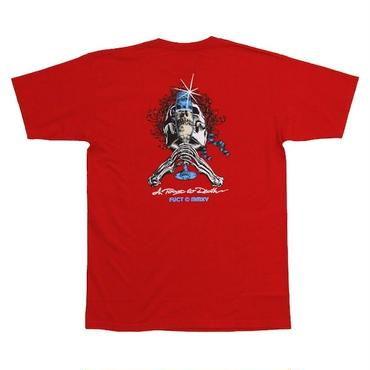 FUCT 5600 A TOAST TO DEATH S/S TEE (RED)