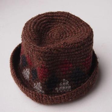 mash MS-BDNS-07 Knit HAT (#2 BROWN)