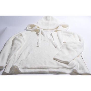 "【 tr.4 suspension 】tr.4 ""El Chapo"" PILE PULLOVER HOODED ( OFF WHITE )"