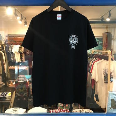 "LONG SET ORIGINAL LSD-001 ""LS DOG TOWN"" T-SHIRT (BLACK)"