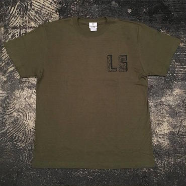 "【 LIFERS 】L-037 ""LS"" T-SHIRT ( OLIVE )"