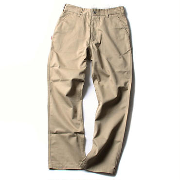 FUCT/SSDD 41203 CIRCLE LOGO CHINO TROUSERS (BEIGE)