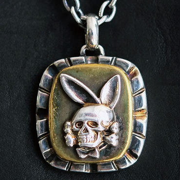 FUCT/SSDD 4406 DEATH BUNNY NECKLACE (SILVER925×BRASS)