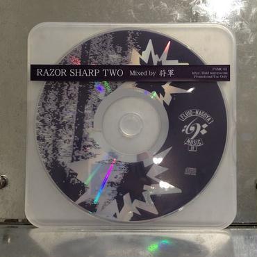 """将軍 MIX CD """"RAZOR SHARP TWO"""""""