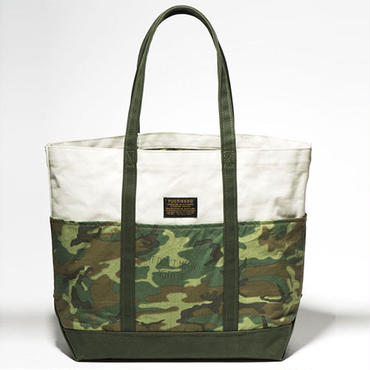FUCT/SSDD 9409 CAMOUFLAGE TOTE BAG