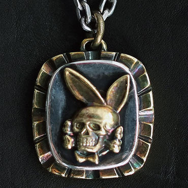 FUCT/SSDD 4407 DEATH BUNNY NECKLACE (BRASS×SILVER925)
