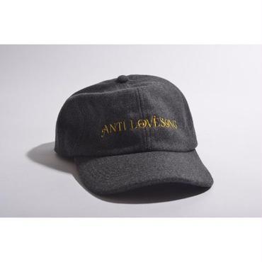 "【 tr.4 suspension × GAVIAL 】""ANTI LOVESONG"" WOOL CAP ( GRAY )"