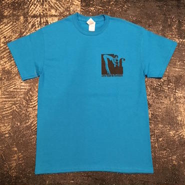 """【 tr.4 suspension 】""""IF"""" S/S TEE ( BLUE )"""
