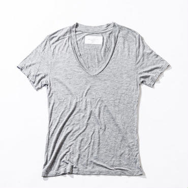ACANTHUS CT1503 DEEP V NECK T (GRAY)