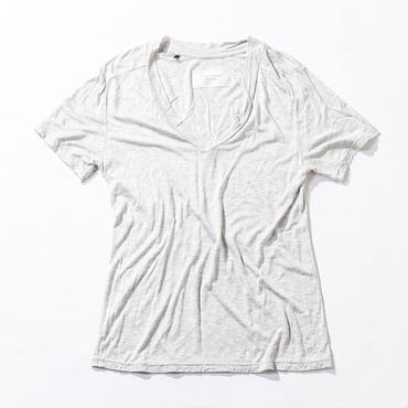 ACANTHUS CT1503 DEEP V NECK T (WHITE)