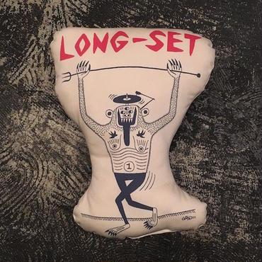 "【 LONG SET ORIGINAL 】LSD-021 LONG SET × SCUMBOY ""SCUM APE"" CUSHION (NATURAL)"