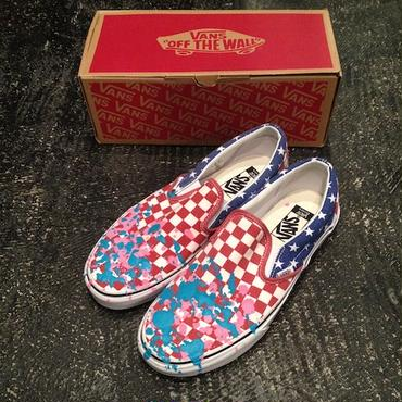 "VANS SPECIAL EDITION by ESPYONE ""SLIP-ON"" US9.5(27.5cm) B"