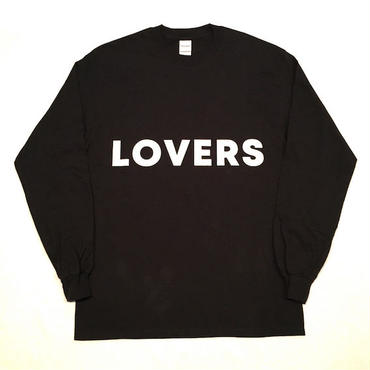 "【 tr.4 suspension 】TR4S ""LOVERS ROCK"" L/S TEE ( BLACK )"