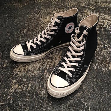 "【 CONVERSE 】""First String"" CTAS 70 HI ( BLACK )"